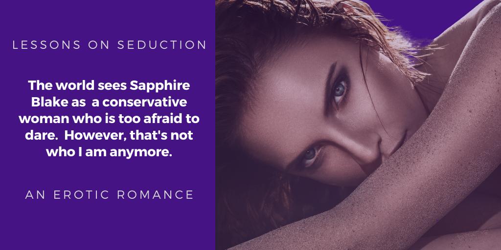 Lessons on Seduction, an erotic romance novel