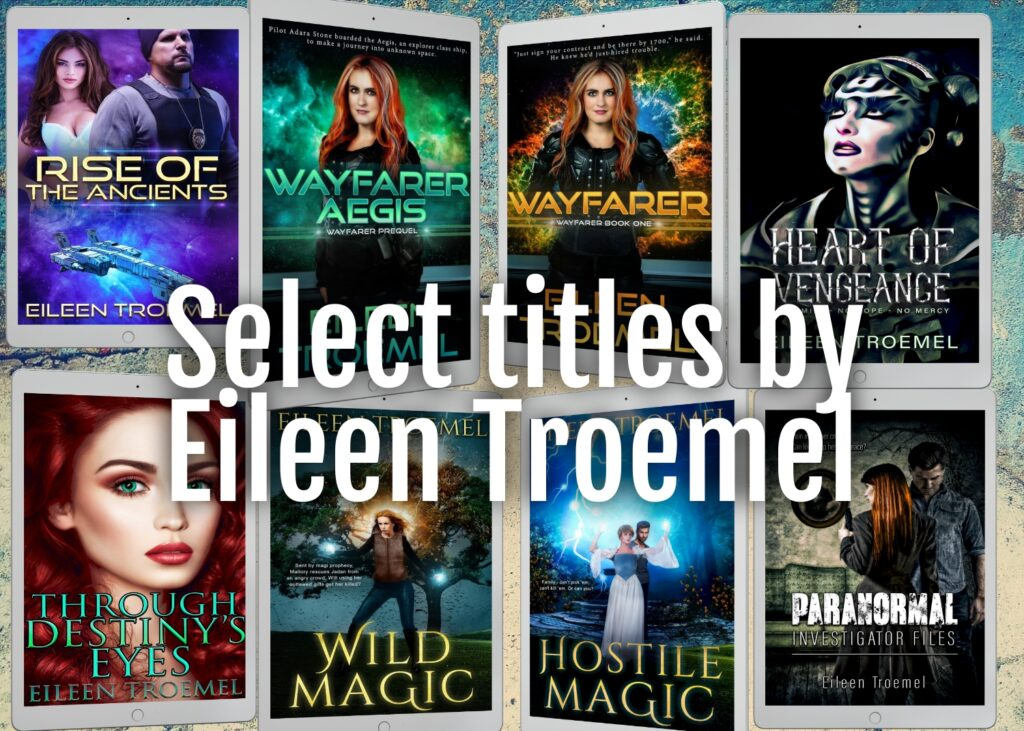 Books by USA Today bestseller Eileen Troemel